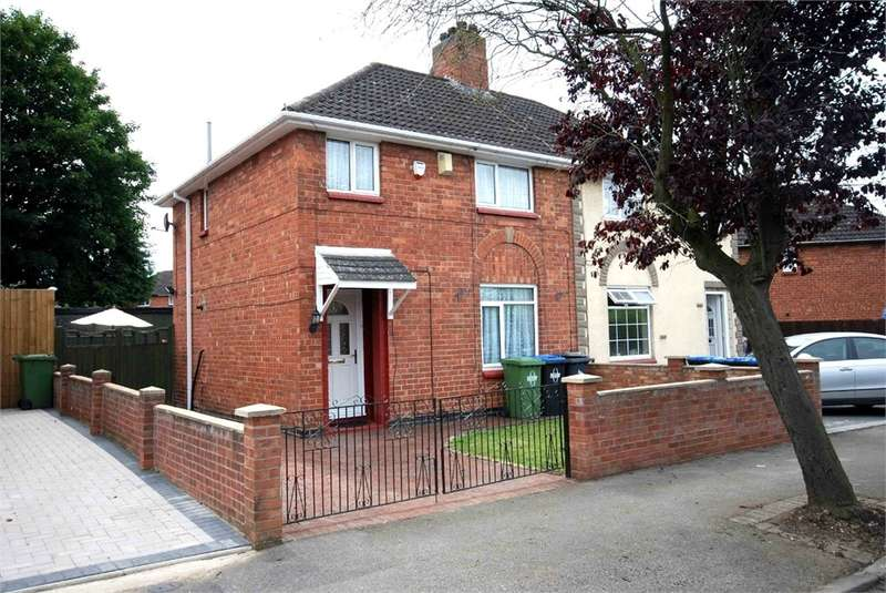 3 Bedrooms Semi Detached House for sale in Pope Street, RUGBY, Warwickshire
