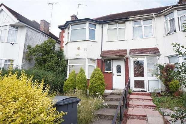 3 Bedrooms End Of Terrace House for sale in Bridgewater Road, Wembley, Middlesex