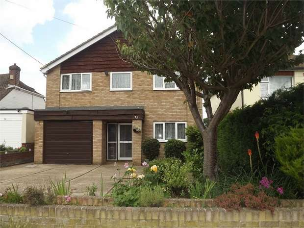 4 Bedrooms Detached House for sale in Chestnut Avenue, Chatham, Kent