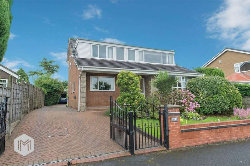 4 Bedrooms Detached House for sale in Teak Drive, Kearsley, Bolton, Lancashire