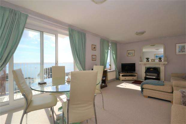 2 Bedrooms Flat for sale in Eddystone Court Flats, Portuan Road, Looe, Cornwall