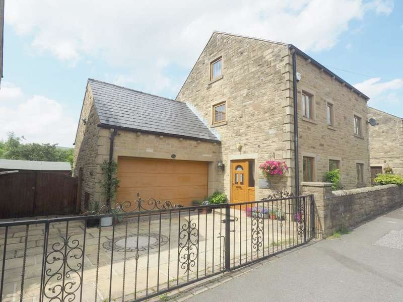 5 Bedrooms Detached House for sale in Woolley Bridge Road, Hadfield, Glossop, Derbyshire, SK13 1PZ