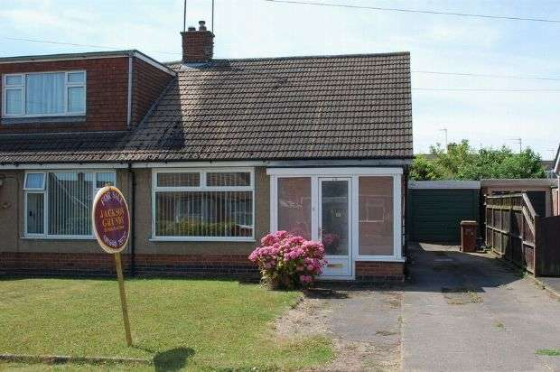 2 Bedrooms Semi Detached Bungalow for sale in Edgehill Road, Duston, Northampton NN5 6DA