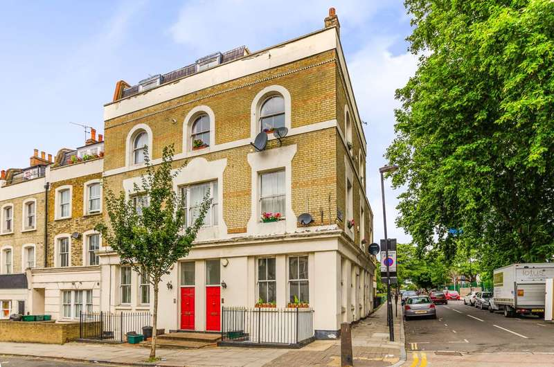 2 Bedrooms Maisonette Flat for sale in Tollington Way, Holloway, N7