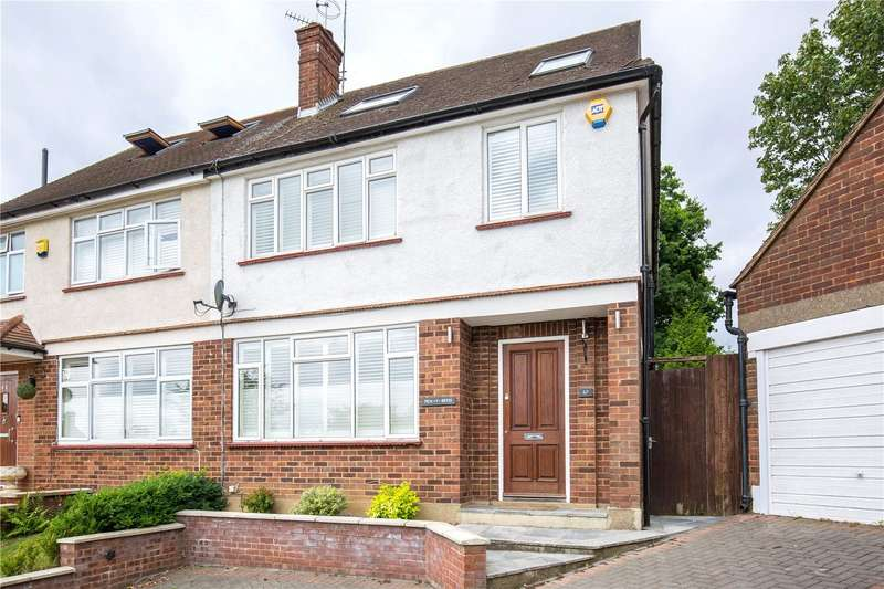 4 Bedrooms Semi Detached House for sale in The Reddings, Mill Hill, London, NW7