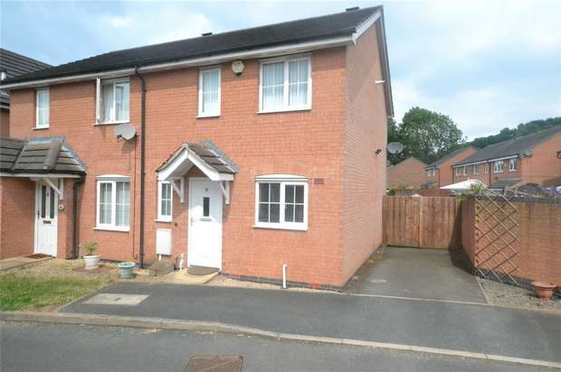 2 Bedrooms Semi Detached House for sale in 19 Port Way, Madeley, Telford, Shropshire