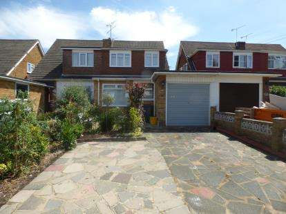 3 Bedrooms Semi Detached House for sale in Benfleet, Essex, Uk
