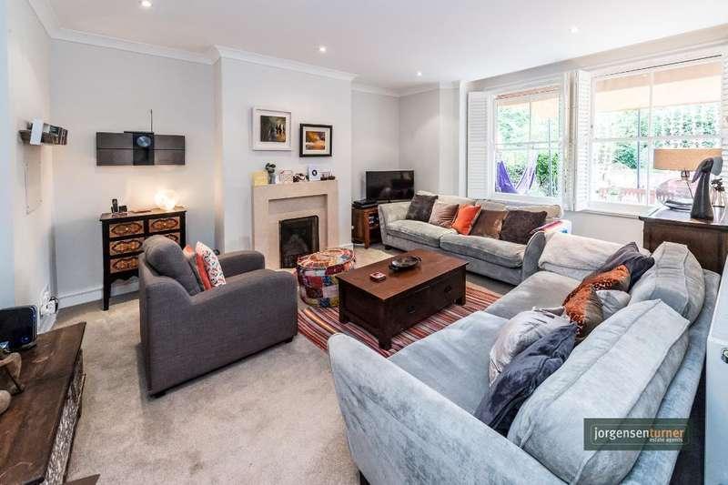 2 Bedrooms Ground Flat for sale in Brondesbury Villas, London, NW6 6AJ