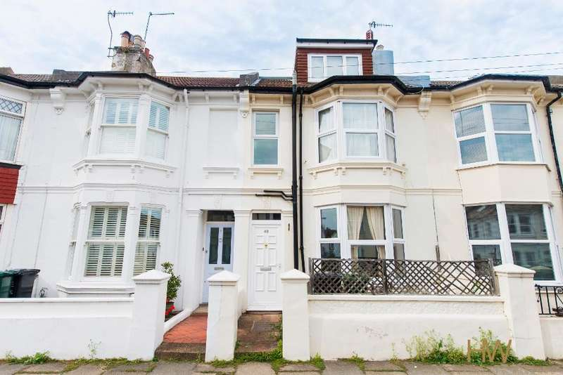4 Bedrooms Terraced House for sale in Byron Street, Hove, East Sussex, BN3 5BB