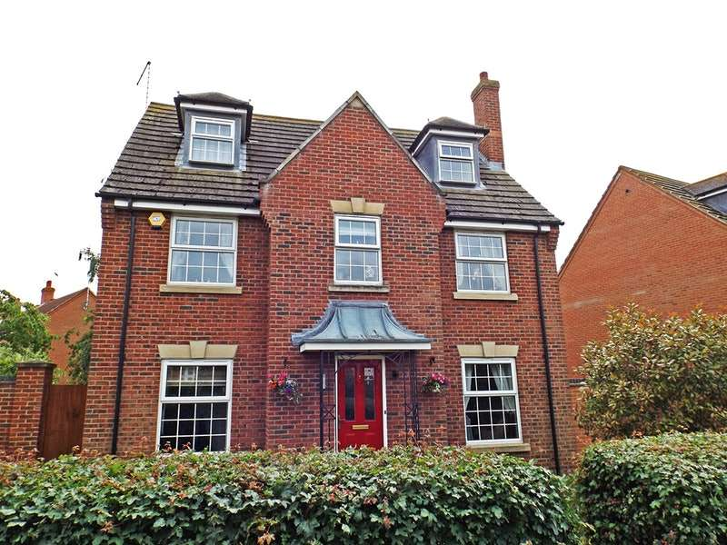 5 Bedrooms Detached House for sale in Falcon Way Hampton Vale, Peterborough, Cambridgeshire, PE7