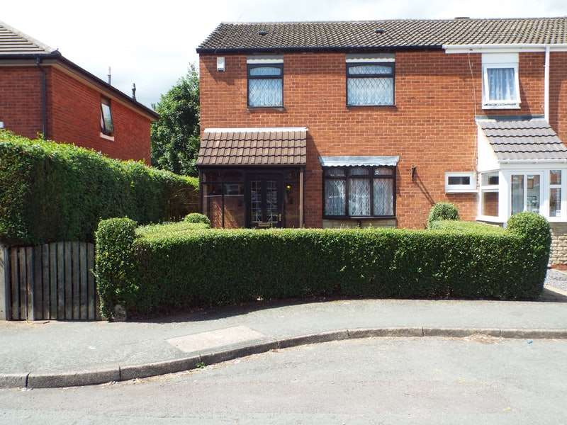 3 Bedrooms End Of Terrace House for sale in Great Hampton Street, Wolverhampton, West Midlands, WV1