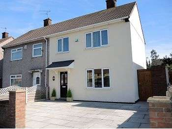3 Bedrooms Semi Detached House for sale in Barford Road, Hunts Cross, Liverpool, L25 0PR