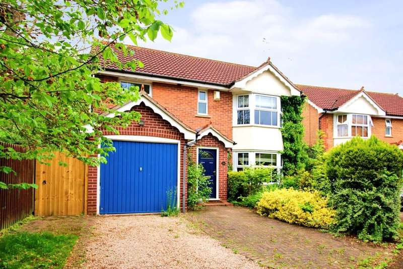 4 Bedrooms Detached House for sale in Bostock Close, Elmesthorpe, Leicester, LE9