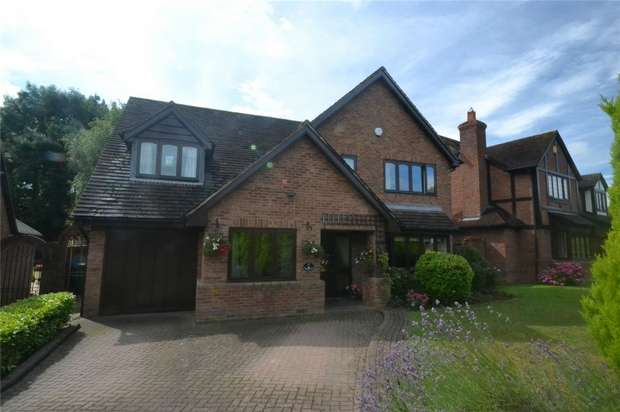 4 Bedrooms Detached House for sale in 17 Peregrine Way, Apley, Telford, Shropshire