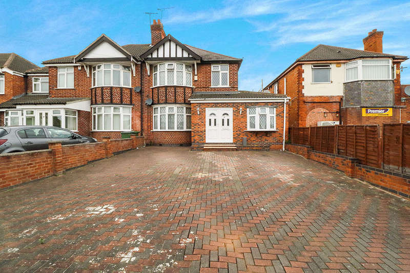 5 Bedrooms Semi Detached House for sale in Narborough Road South, Leicester, LE3