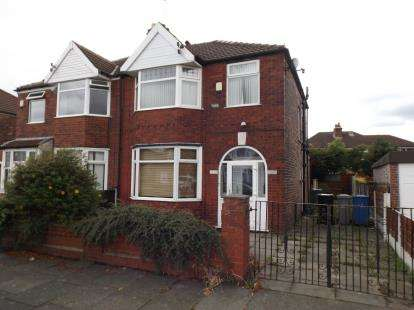 3 Bedrooms Semi Detached House for sale in Barkway Road, Stretford, Manchester, Greater Manchester