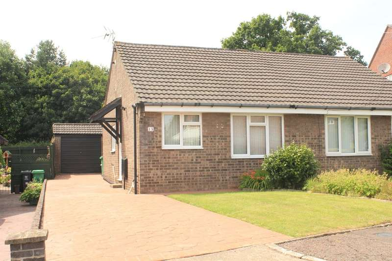 2 Bedrooms Semi Detached Bungalow for sale in Rhiwlas, Thornhill, Cardiff