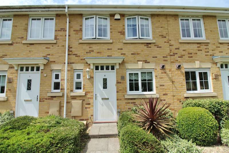 2 Bedrooms Terraced House for sale in Schooner Walk, Newport, NP10
