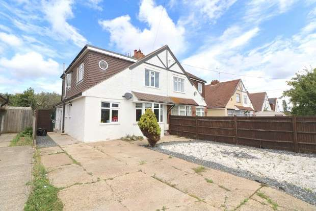 4 Bedrooms Semi Detached House for sale in Broad Road, Eastbourne, BN20
