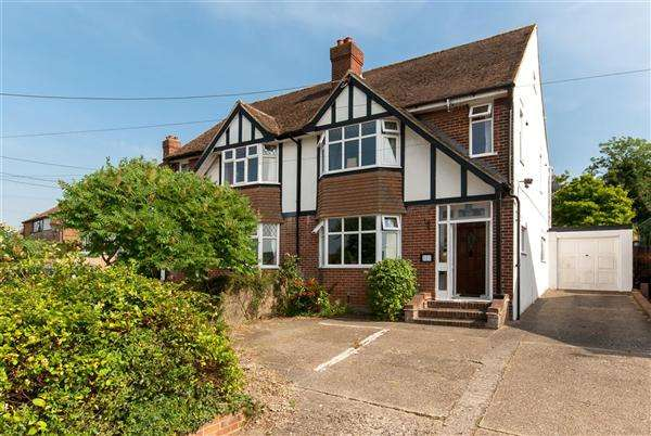 3 Bedrooms Semi Detached House for sale in Ashford Road, Canterbury