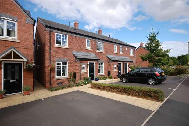 3 Bedrooms End Of Terrace House for sale in Kings Court, BRIDGNORTH, Shropshire