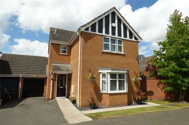 3 Bedrooms Link Detached House for sale in Upton Drive, Maple Park, Nuneaton, Warwickshire