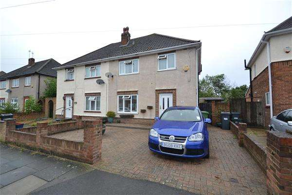 3 Bedrooms Semi Detached House for sale in Dudley Road, Bedfont