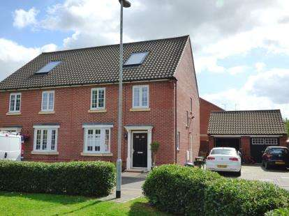 4 Bedrooms Semi Detached House for sale in Douglas Close, Norwich, Norfolk