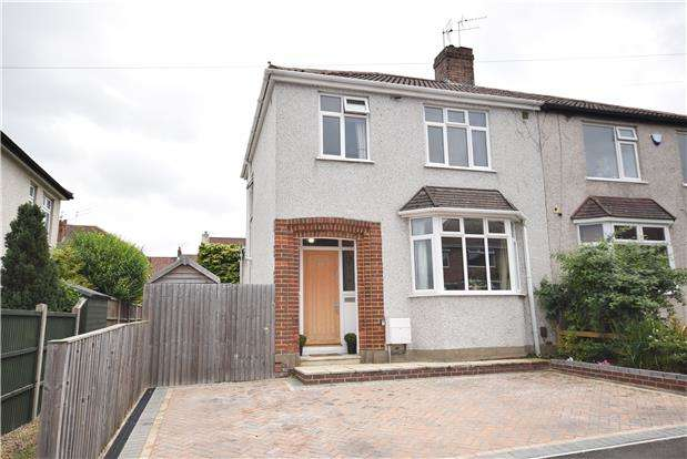 3 Bedrooms Semi Detached House for sale in Kimberley Road, Fishponds, BRISTOL, BS16 5AE