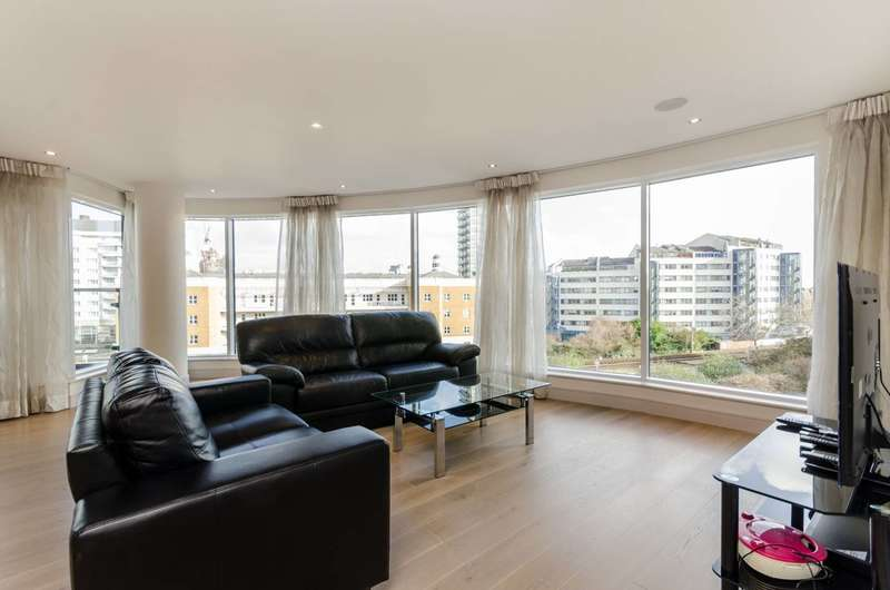2 Bedrooms Flat for sale in Townmead Road, Imperial Wharf, SW6