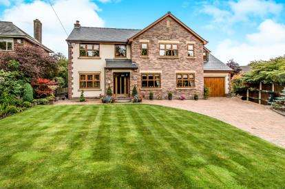 5 Bedrooms Detached House for sale in Wearish Lane, Westhoughton, Bolton, Greater Manchester, BL5