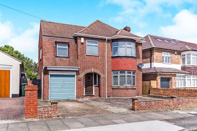 4 Bedrooms Detached House for sale in Wellington Road, Bexley, DA5