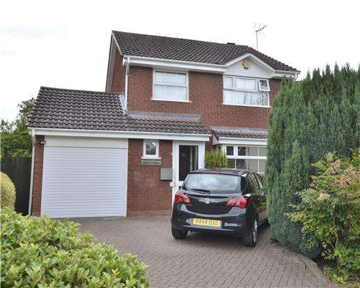 3 Bedrooms Detached House for sale in 4 Tower Close, Barnwood, GLOUCESTER, GL4 3EL