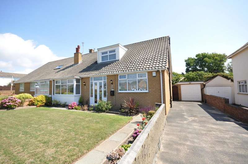 3 Bedrooms Semi Detached Bungalow for sale in Highbury Road West, St Annes, Lytham St Annes, Lancashire, FY8 2RE