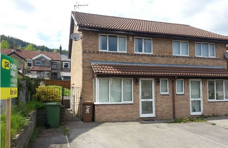 3 Bedrooms Semi Detached House for sale in Garden Street, Llanbradach, Caerphilly