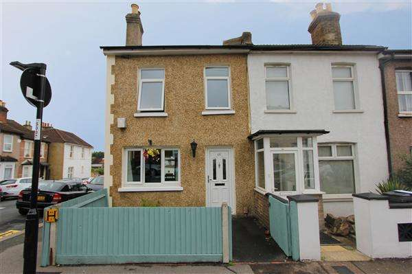 3 Bedrooms End Of Terrace House for sale in Bynes Road, South Croydon