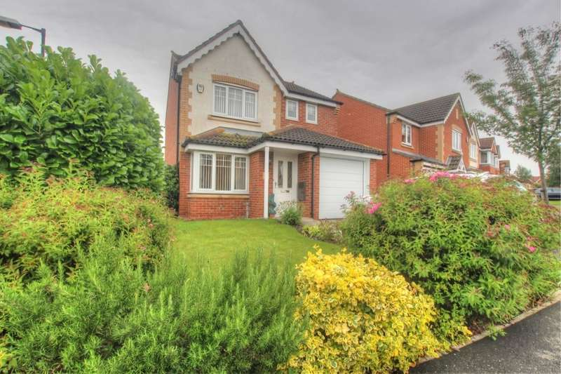 3 Bedrooms Detached House for sale in Flixton, Houghton Le Spring, DH4