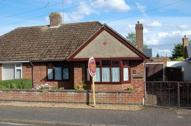 2 Bedrooms Semi Detached Bungalow for sale in The Scarplands, Duston Village, Northampton NN5 6EY