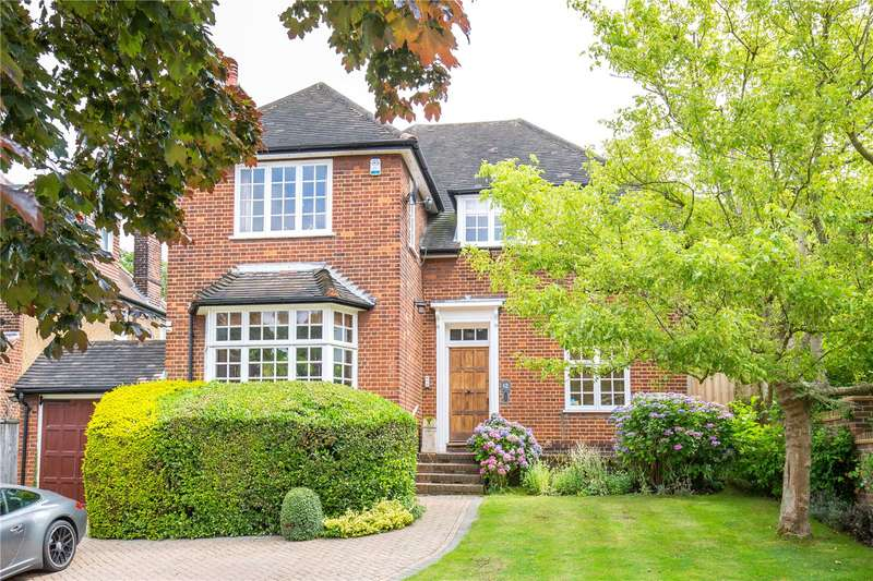 4 Bedrooms Detached House for sale in Ringwood Avenue, East Finchley, London, N2
