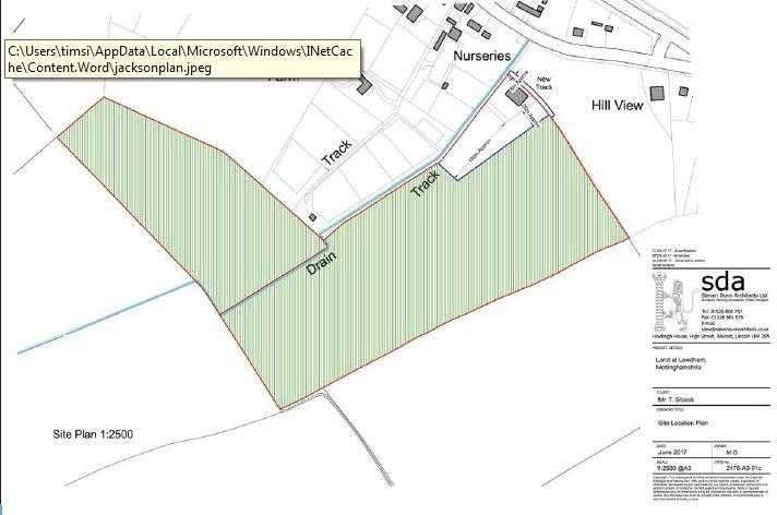 Land Commercial for sale in Land At Old Epperstone Road,, Lowdham, Nottingham