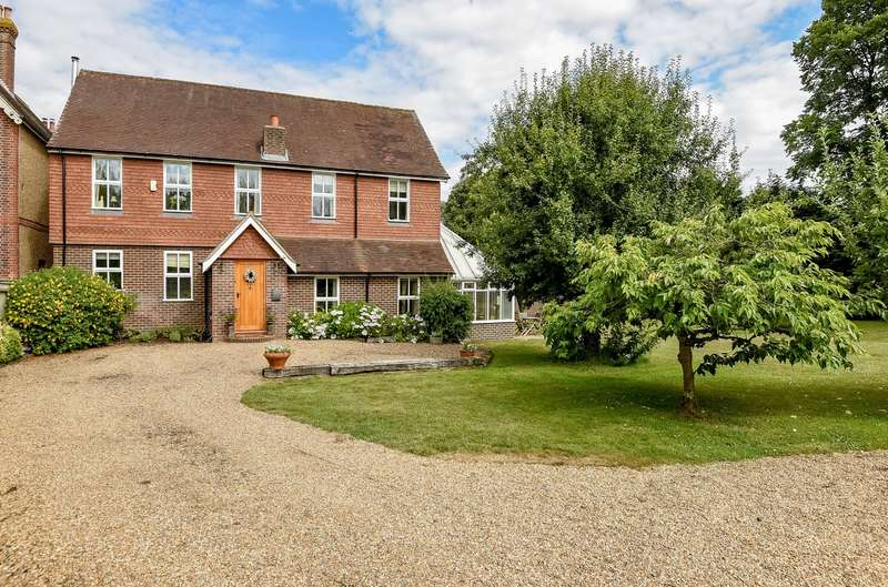 5 Bedrooms Detached House for sale in Bury Common, Bury, RH20