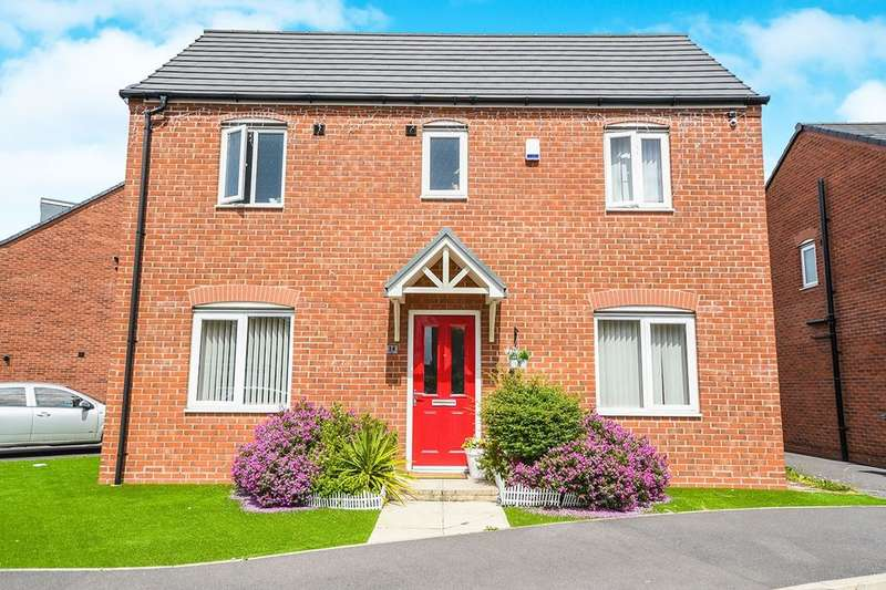 3 Bedrooms Detached House for rent in Kenneth Close, Prescot, L34