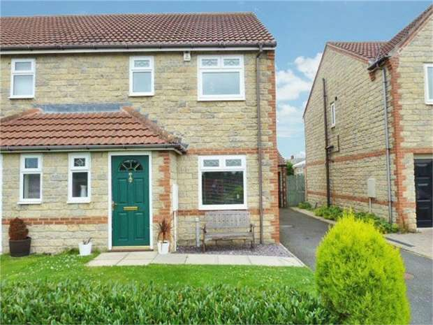 3 Bedrooms Semi Detached House for sale in Acorn Croft, Witton Gilbert, Durham