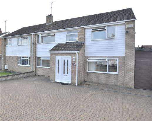 4 Bedrooms Semi Detached House for sale in Credon Road, Gloucester, GL3 3BB