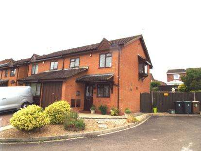 3 Bedrooms Semi Detached House for sale in Keeble Close, Luton, Bedfordshire