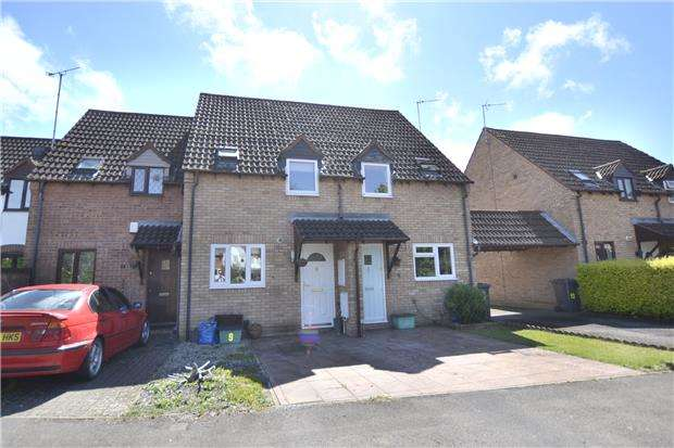 2 Bedrooms Terraced House for sale in Millers Dyke, Quedgeley, GLOUCESTER, GL2 4XB