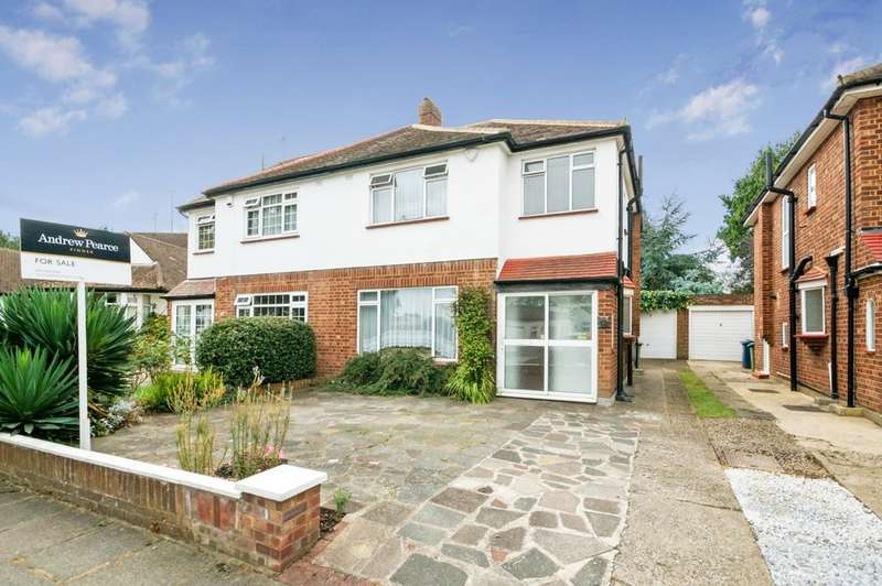 3 Bedrooms Semi Detached House for sale in Birkdale Avenue, Pinner