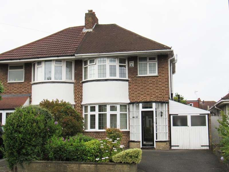 3 Bedrooms Semi Detached House for sale in Marcot Road, Solihull