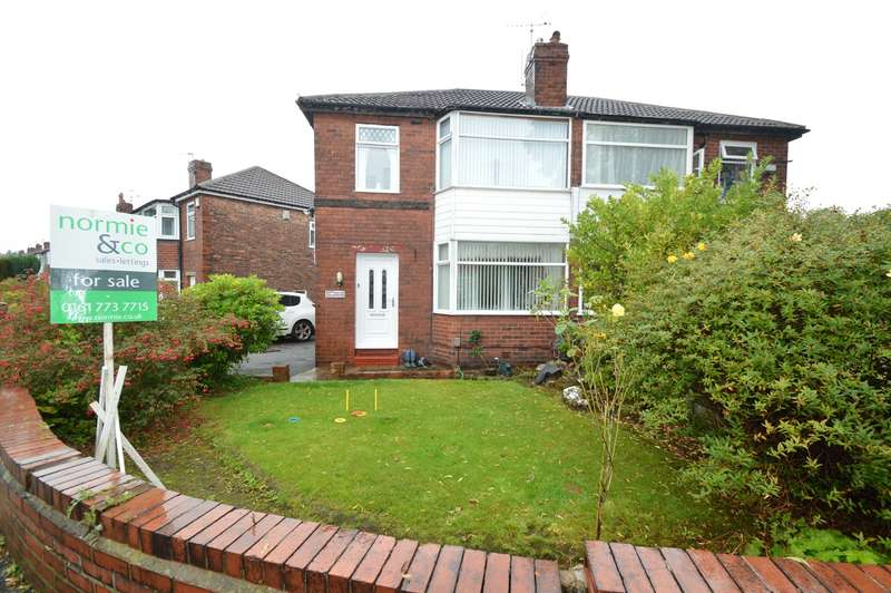 3 Bedrooms Semi Detached House for sale in Maple Avenue, Whitefield, Manchester, M45