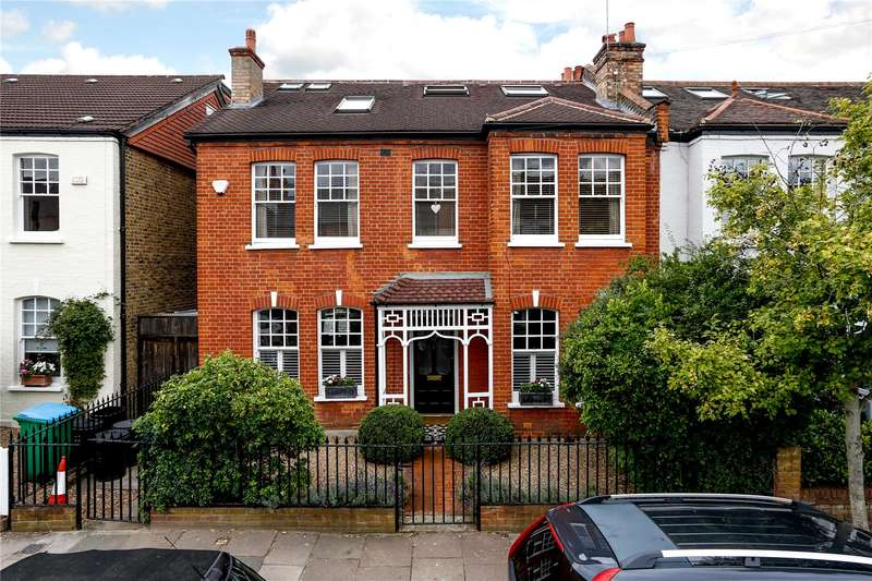 6 Bedrooms Semi Detached House for sale in Connaught Avenue, London, SW14